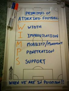 Attacking Principles of Football (WIMPS)