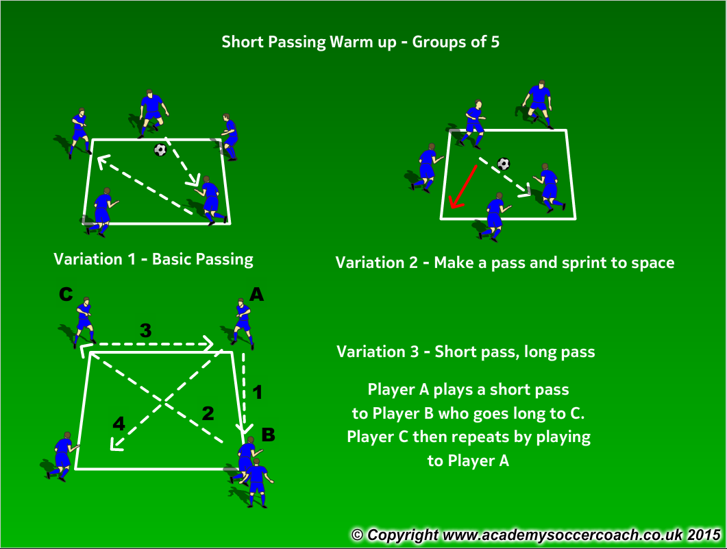 Passing Warm up